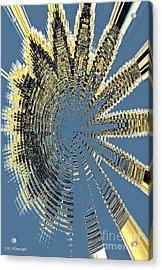 Sound Explosion Acrylic Print by Marlena Nowaczyk