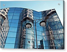 Acrylic Print featuring the photograph Sound Of Glass by Silva Wischeropp
