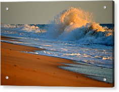 Sound Of The Surf Acrylic Print by Dianne Cowen