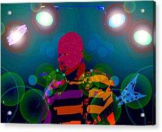 Sound Waves Acrylic Print by David Lee Thompson