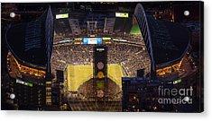 Sounders Match At Century Field Acrylic Print