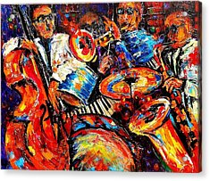 Sounds Of Jazz Acrylic Print