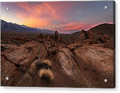 Acrylic Print featuring the photograph Sounds Of Silence by Mike Lang
