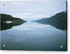 Soundtrack- Loch Ness Shore Acrylic Print by Cambion Art