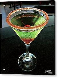 Sour Apple Martini Acrylic Print