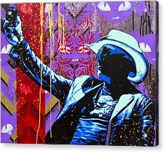 Sour Grapes Acrylic Print by Bobby Zeik