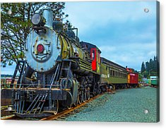 Sourthern Pacific Lines Number 90 Acrylic Print by Garry Gay