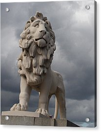 South Bank Lion.  Acrylic Print