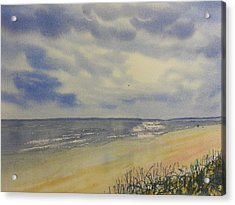 South Beach From The Dunes Acrylic Print