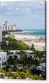 South Beach Late Afternoon Acrylic Print