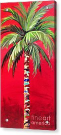South Beach Palm II Acrylic Print