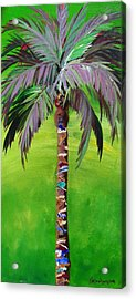 South Beach Palm IIi Acrylic Print