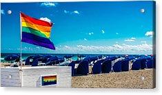 South Beach Pride Acrylic Print