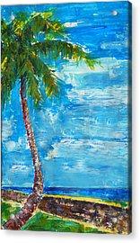 South Beach Wall Acrylic Print