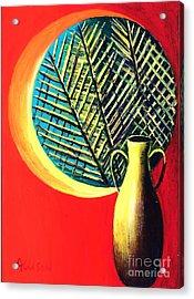 South Beach Window  Acrylic Print