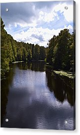 South Bound Acrylic Print by Warren Thompson