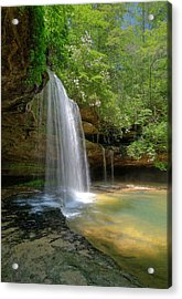 South Caney Creek Falls Photograph By Les Griffith