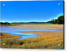 South Carolina Lowcountry H D R Acrylic Print