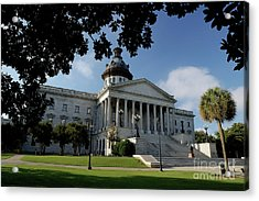 South Carolina State House 2 Acrylic Print by Michael Eingle