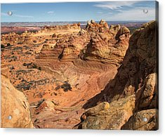 South Coyote Buttes Acrylic Print