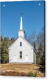 South Cushing Baptist Church Acrylic Print