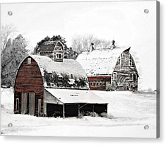 South Dakota Farm Acrylic Print
