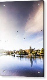 South-east Tasmania River Landscape Acrylic Print by Jorgo Photography - Wall Art Gallery
