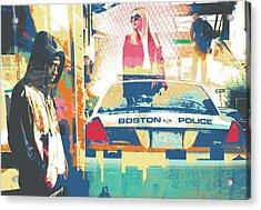 South End Acrylic Print by Shay Culligan