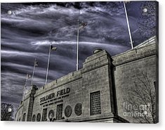 South End Soldier Field Acrylic Print