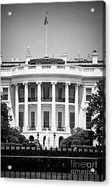 south facade of the white house Washington DC USA Acrylic Print
