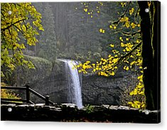 South Falls Of Silver Creek Acrylic Print