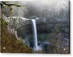 South Falls Shroud Acrylic Print