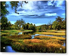 South Fork River Acrylic Print