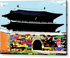 South Great Gate By Taikan Acrylic Print