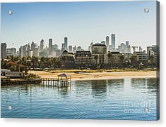 South Melbourne Acrylic Print