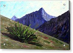 South Side Of O'malley Peak Acrylic Print