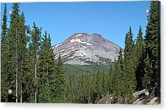 South Sister Acrylic Print by Larry Darnell