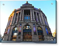 South Station Boston  Acrylic Print by Catherine Reusch Daley