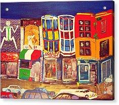 South Street Acrylic Print