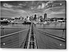 South Tower Acrylic Print by Russell Todd