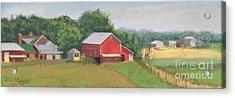 South View Of Meyer Farm Acrylic Print by Terri  Meyer