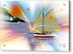 South Winds Acrylic Print by Madeline  Allen - SmudgeArt