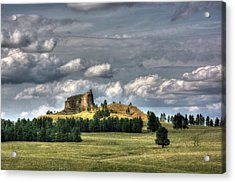 Belltower Butte Acrylic Print