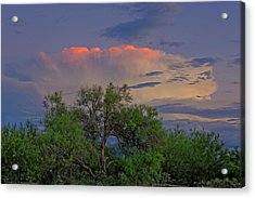 Acrylic Print featuring the photograph Southeast Of Sunset H38 by Mark Myhaver