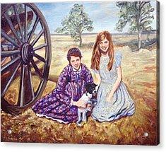 Southern Belles Acrylic Print