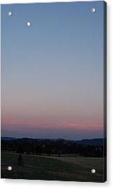 Southern Black Hills Moon Acrylic Print