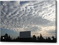 Southern California Drive-in Acrylic Print by Suzanne Lorenz