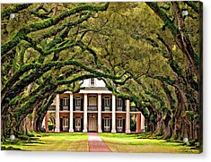 Southern Class Painted Acrylic Print