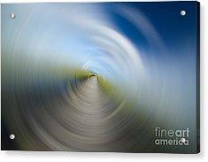 Southern Dock Motion Blur Acrylic Print by Dustin K Ryan