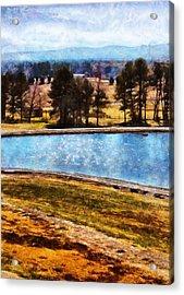 Southern Farmlands Acrylic Print